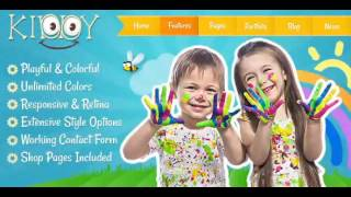 Kiddy – Children HTML Template | Themeforest Website Templates and Themes