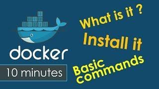 Docker Tutorial : What is Docker , How to Install Docker and Docker Basic Commands