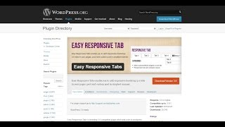 Easy Responsive Tabs – WordPress Plugin to Add Tabbed Content Easily – ImagineWP