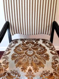 The Finished Product: a chair makeover [DIY]
