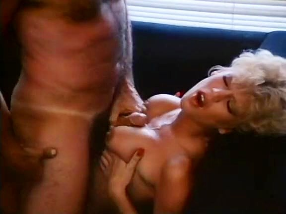 Amber Lynn, John Leslie in amazing retro sex video with John Leslie