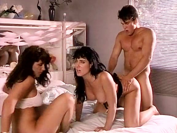 Jeanna Fine, Tiara, T.T. Boy in breathtaking threesome from vintage porn