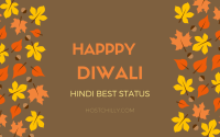Happy Diwali Status in Hindi