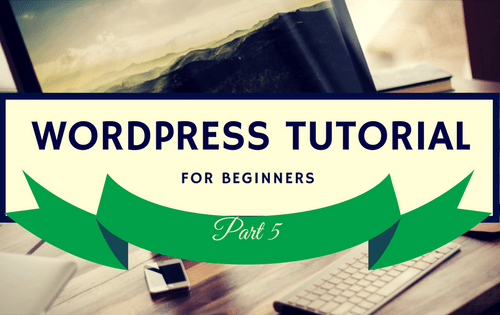 WordPress Tutorial 5 Logo