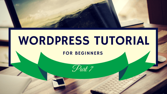 WordPress Tutorial 7 Logo