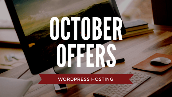 Web Hosting Offers WordPress October Logo