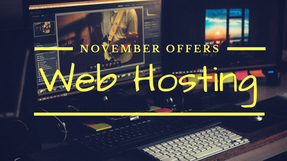 Web Hosting Offers and coupons November Logo
