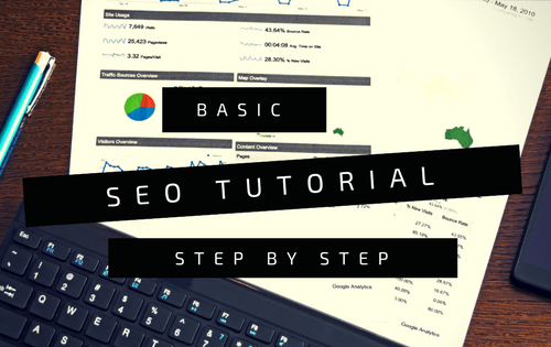 Basic SEO Tutorial step by step Logo
