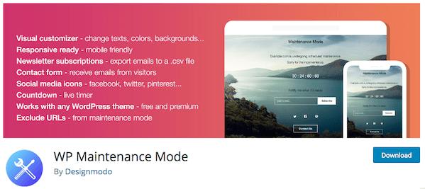 WP Maintenance Mode Logo