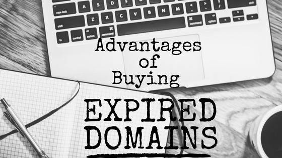 advantages buying Expired Domains