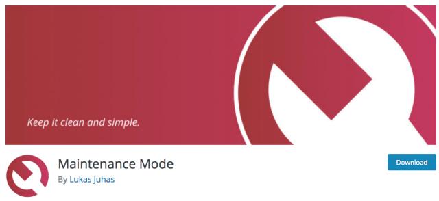 Maintenance Mode Logo