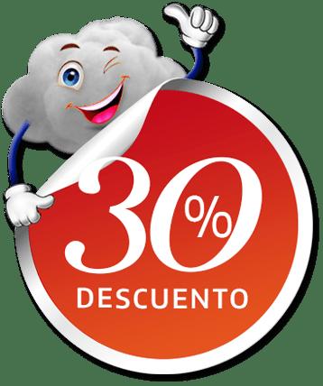 30 de descuento alojamiento web con dominio gratis