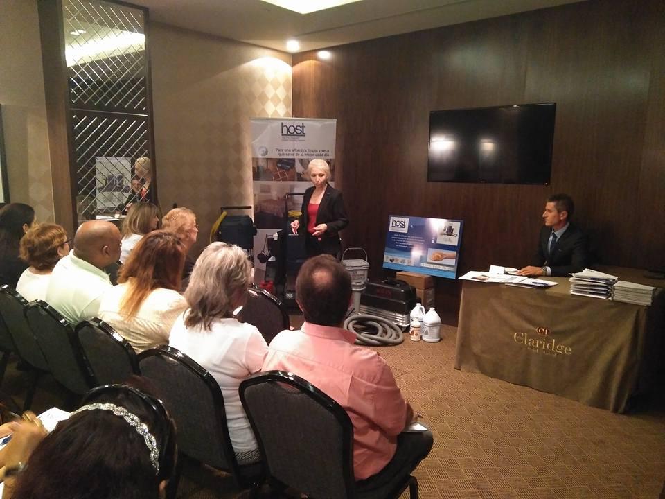 Presentación de Host Dry en Madrid