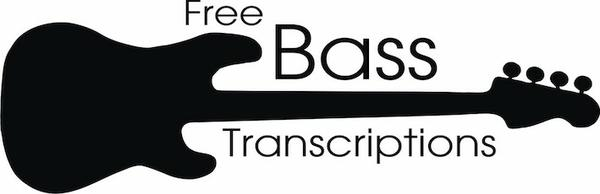 Free Bass Transcriptions: Standard notation for over 120 songs
