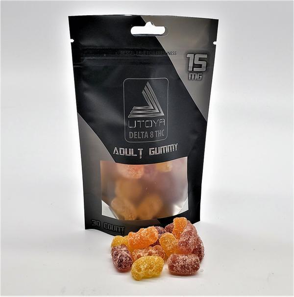 Delta 8 THC Organic & Vegan Gummy Bears - Buy 2 Get One FREE