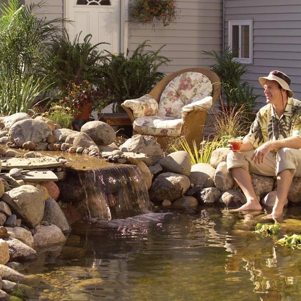 Pond How To Build A Low Maintenance Pond The Family
