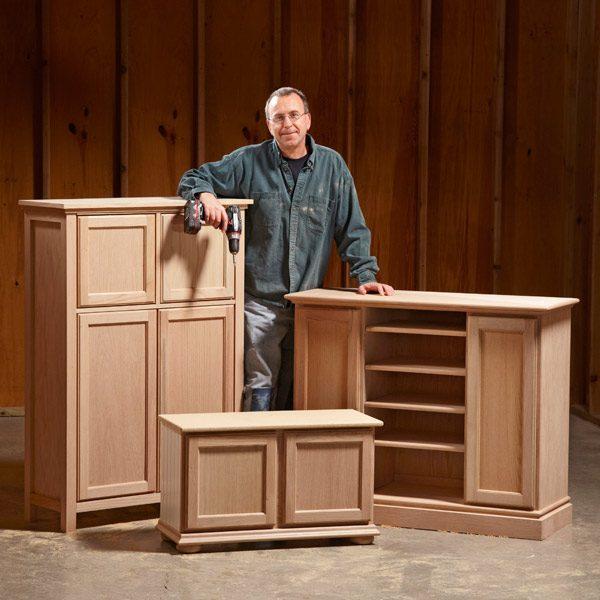 DIY Kitchen Cabinet Plans