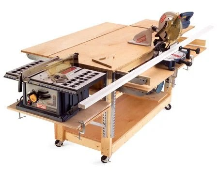 Woodworking rolling work bench ideas PDF Free Download