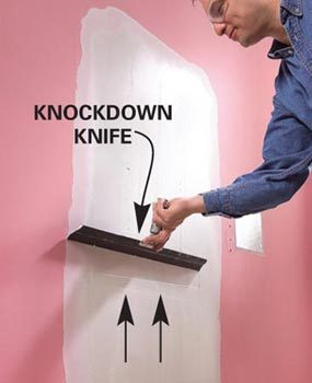 Photo 2: Smooth with a knockdown knife