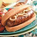 Grilled Seasoned Bratwurst