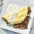 Fines Herbes & Mushroom Omelets Deluxe Photo