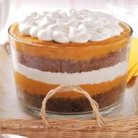 Pumpkin Gingerbread Trifle Photo
