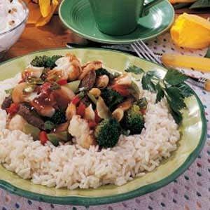 Stir-Fry for One Recipe