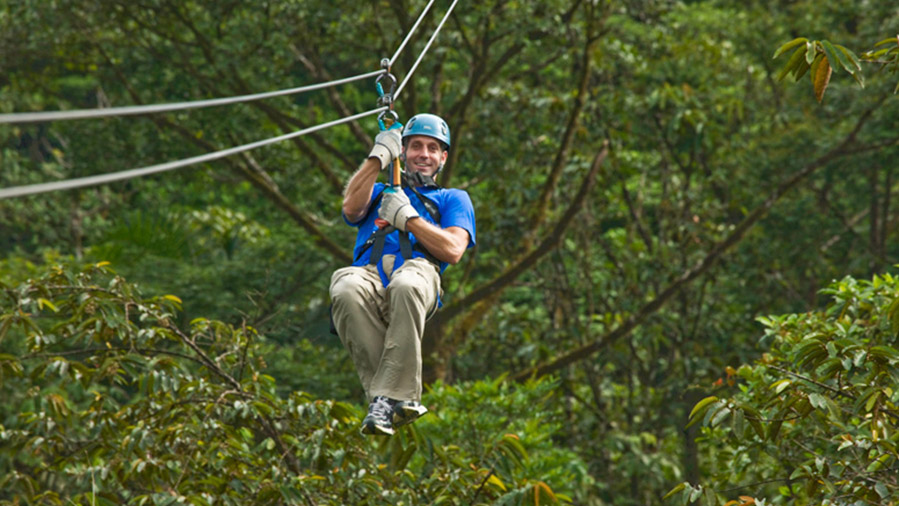 Canopy Tours From: $45.00 p/p