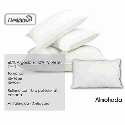 Proveedores de almohadas para hoteles. Textiles hoteleros. Deskansa