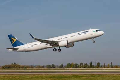 Conexiones diarias desde España a Astana (Nur-Sultan TSE)
