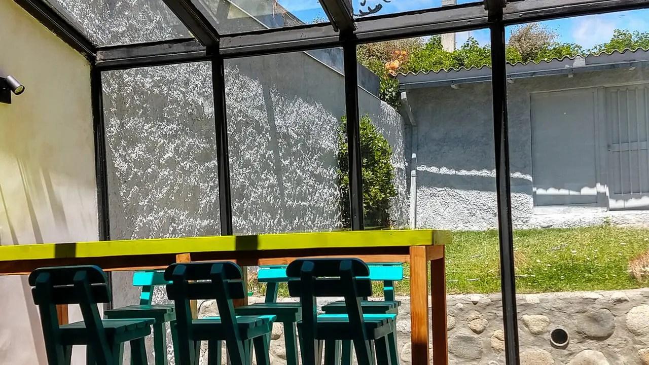 Ambiente interno del Hostel Hormiga Negra - Bariloche