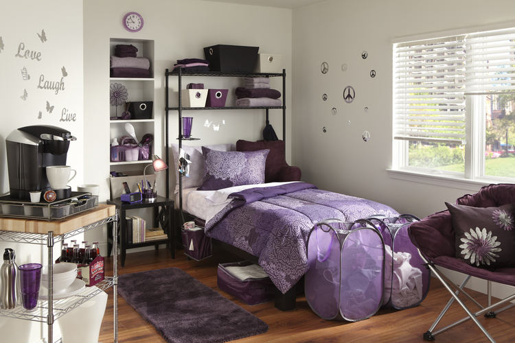 Bedroom-ideas-for-college-girl-college-dorm-room