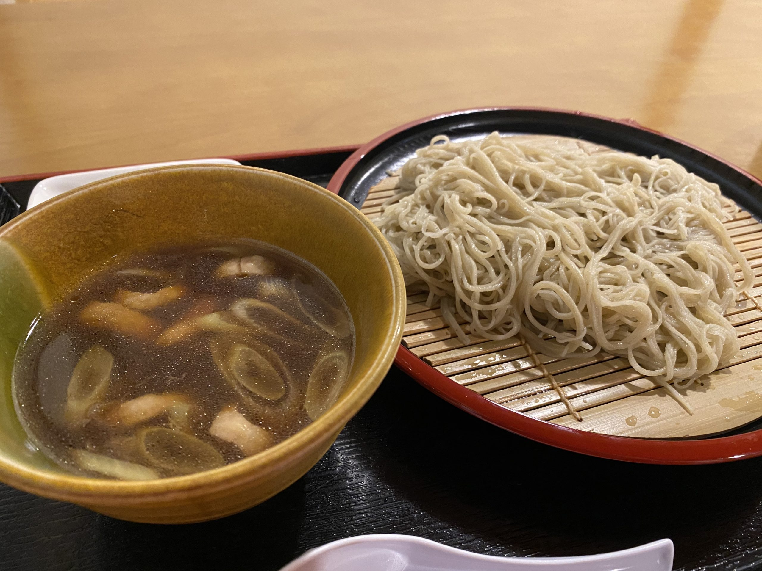 鴨せいろ|Soba soup with duck meat