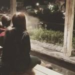 修善寺温泉 夜の街歩き 足湯