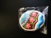A Czech gentleman gave me, cute cookie