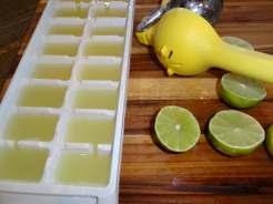 Juiced lime