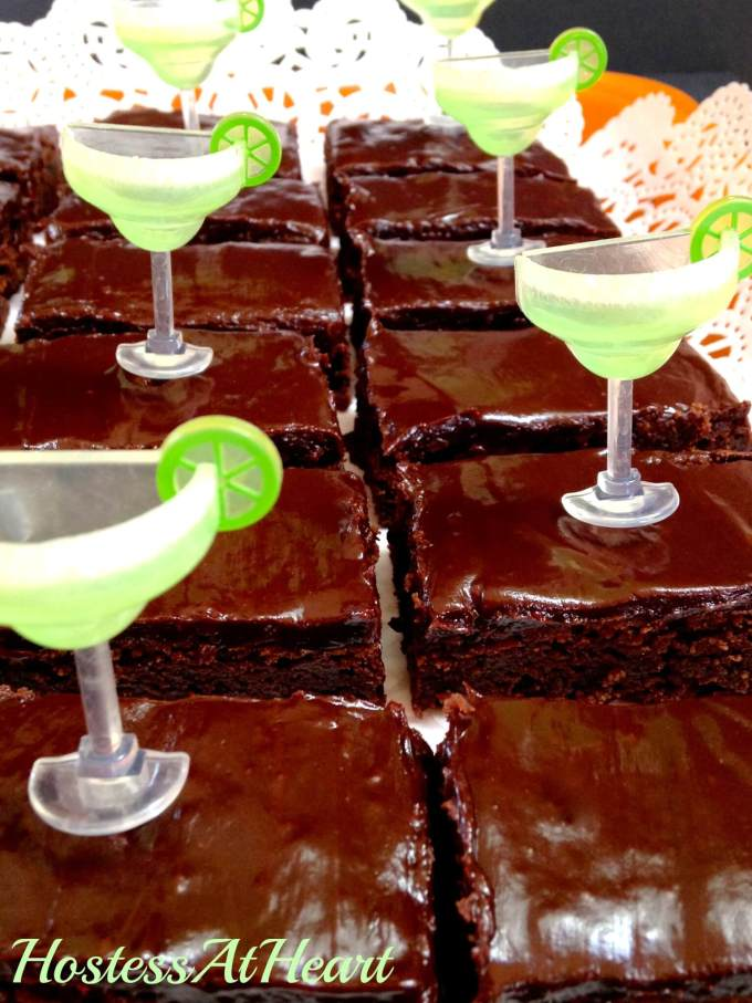 Mexican Brownies have a deep moist chocolate goodness with a back-end spicy hello! You are going to love watching your friends eat these when that surprise kicks in - HostessAtHeart