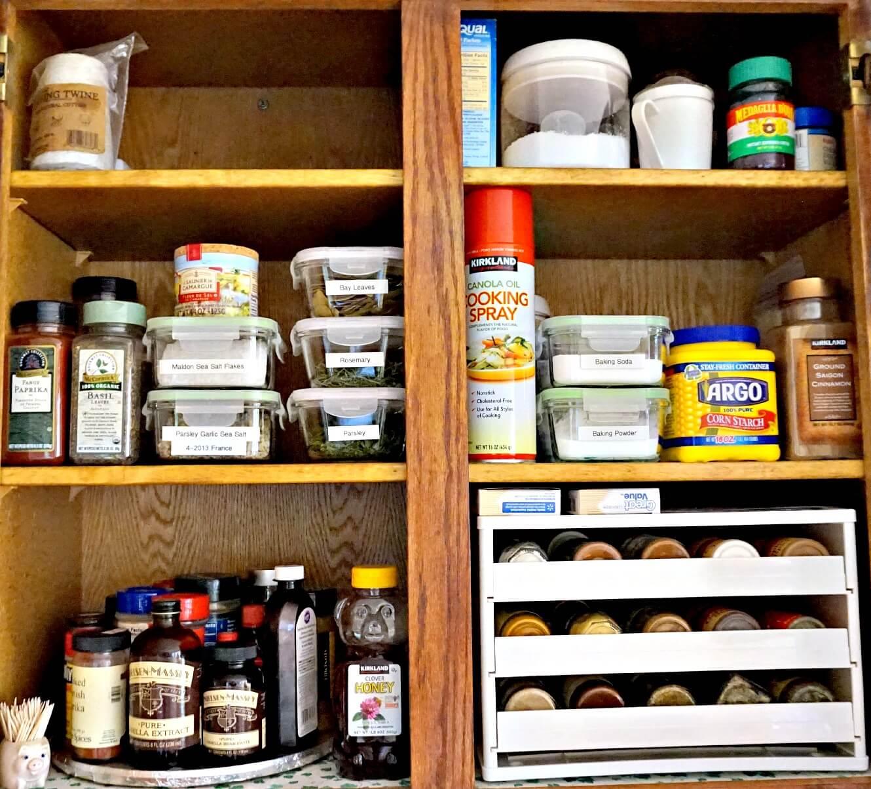 Etonnant Spice Cabinet Organization