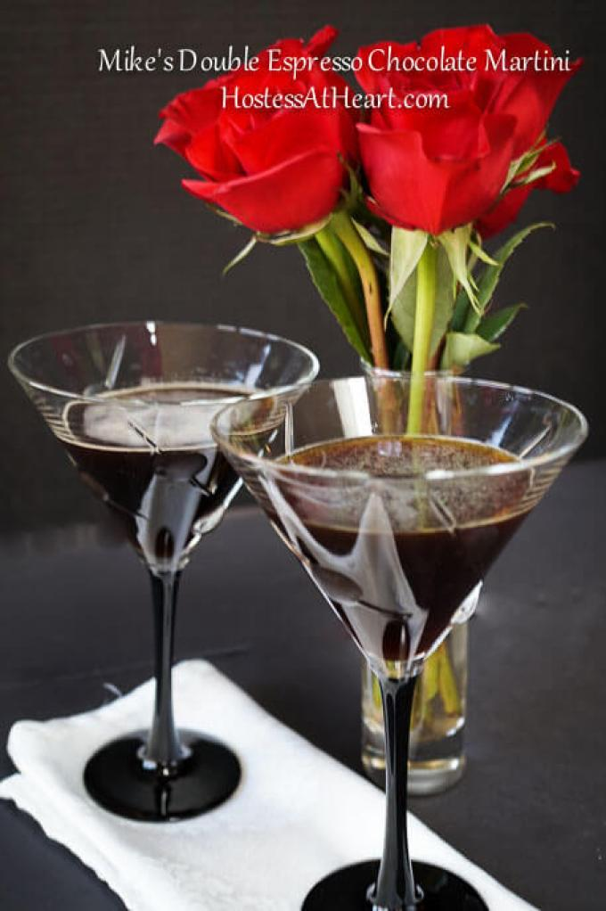After a few Mike's Double Espresso Chocolate Martini's, your jokes will be funnier, and yes, you too can dance. So, this is the perfect cocktail to get the party started. - HostessAtHeart