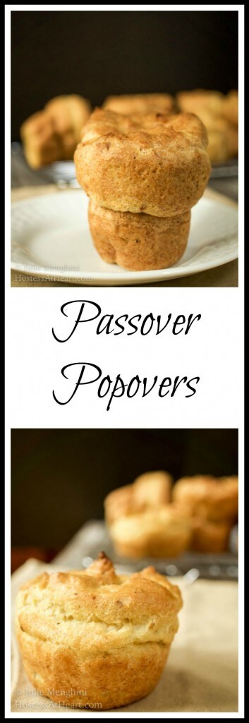 Passover Popovers - Hostess At Heart