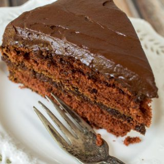 Prize Mahogany Chocolate Cake