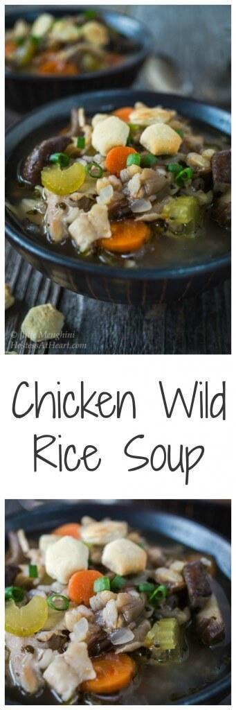 Chicken Wild Rice Soup | Hostess At Heart