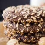 A Dark Chocolate Molasses cookie that is soft on the inside and a delicate crunch on the outside. Delicious enough for special occasions, but easy enough for every day. | HostessAtHeart.com