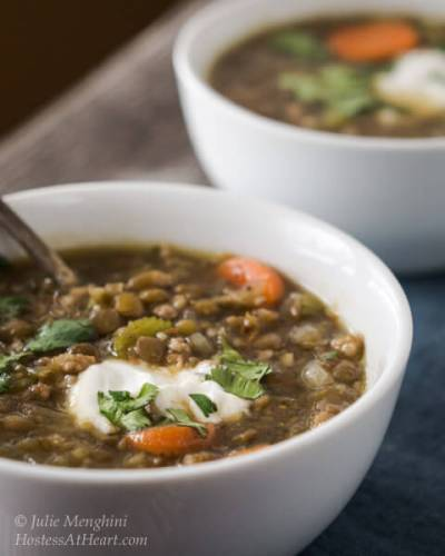 Lentil Sausage Soup Recipe