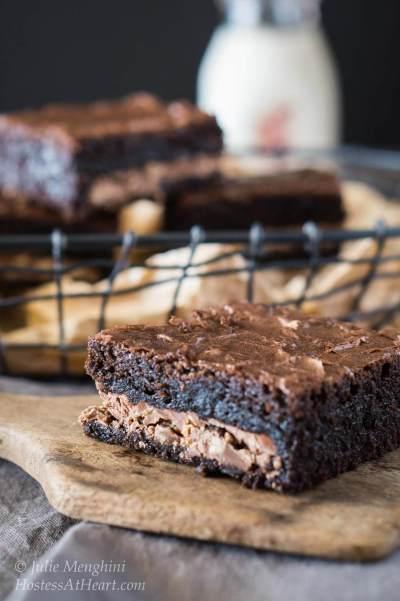 Dark Chocolate Toffee Bars