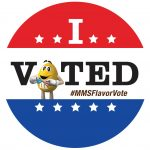 MARS Flavor Vote I Voted Sticker