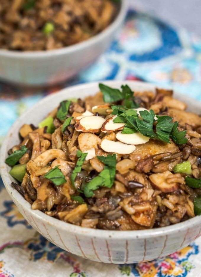 Asian 5 Spice Rice recipe is perfect as a side dish or main meal. You can make it as spicy as you want. Toss in some chicken for another option   HostessAtHeart.com