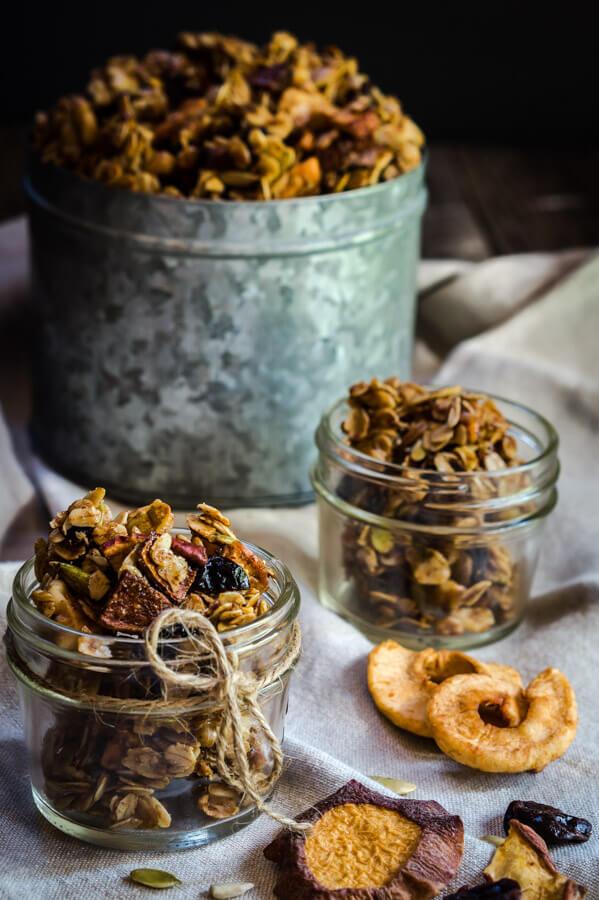 Honey Harvest Granola with Dried Fruit