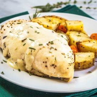 Lemon Herb Chicken with Roasted Potatoes – #GetWellMichelle