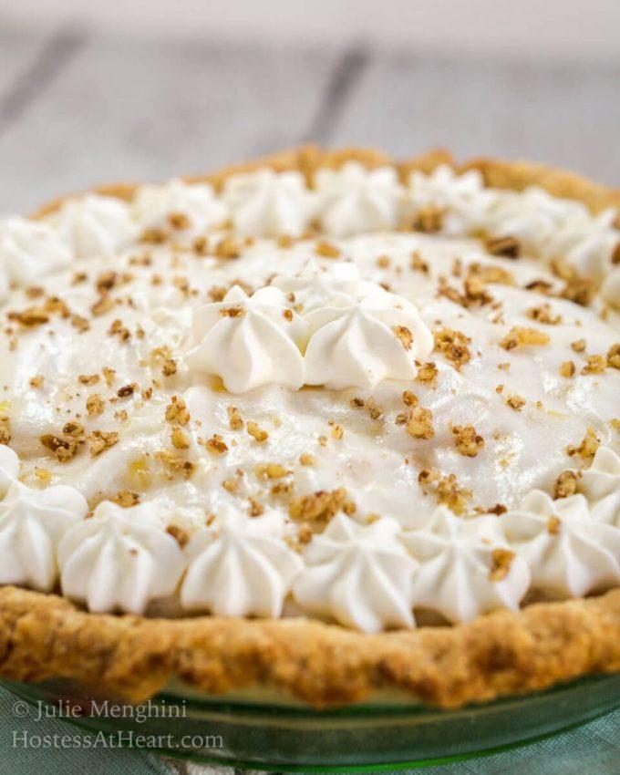 Pineapple Sunshine Cake: Creamy Angel Food Pie Recipe